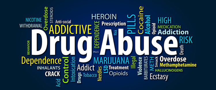 Types of drug abuse in Boston Massachusetts