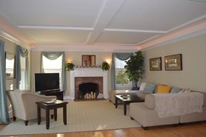 Massachusetts Sober Living House Common Area