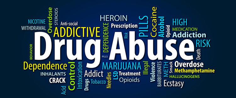 Types of drug abuse in Boston Massachusetts
