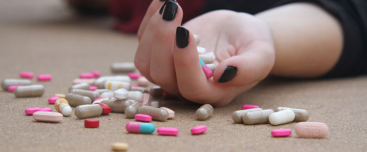 Various types of addiction