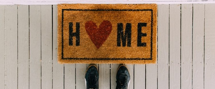 Sober Living Home Welcome Mat